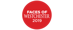 Faces of Westchester 2019 badge